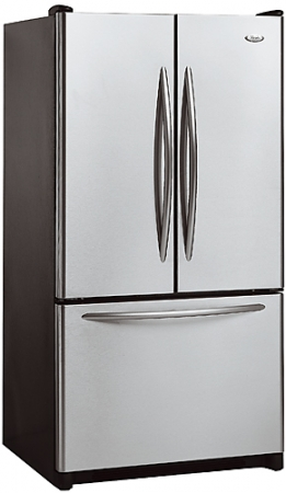 whirlpool 23 cuft french door ss