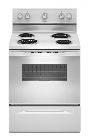 Whirlpool Electric Coil Top Range