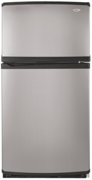 Whirlpool 23 cu.ft. Stainless Steel Refrigerator