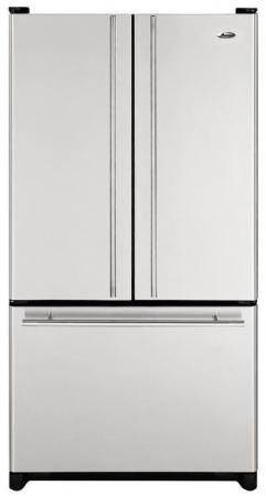 The Whirlpool WG32526PEKS Is A Stainless Steel French Door Refrigerator.  With Stainless Steel Designer Bar Door Handles, And A Smooth Steel Door  Design, ...