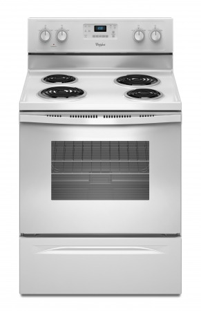 Whirlpool Electric Self Cleaning Coil Top Range