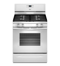 Whirlpool Self Cleaning White Color Gas Stove