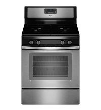 Whirlpool Stainless Steel Self Cleaning Gas Stov...