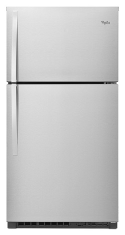 Whirlpool 22.4 cu.ft. Top Mount Stainless Steel
