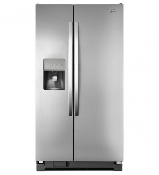 Whirlpool 27 cu.ft. Side by Side Stainless Steel...
