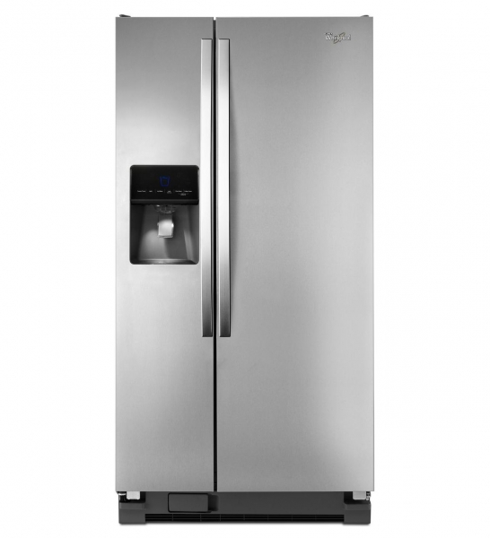 Whirlpool 23 cu.ft. side by side stainless steel...